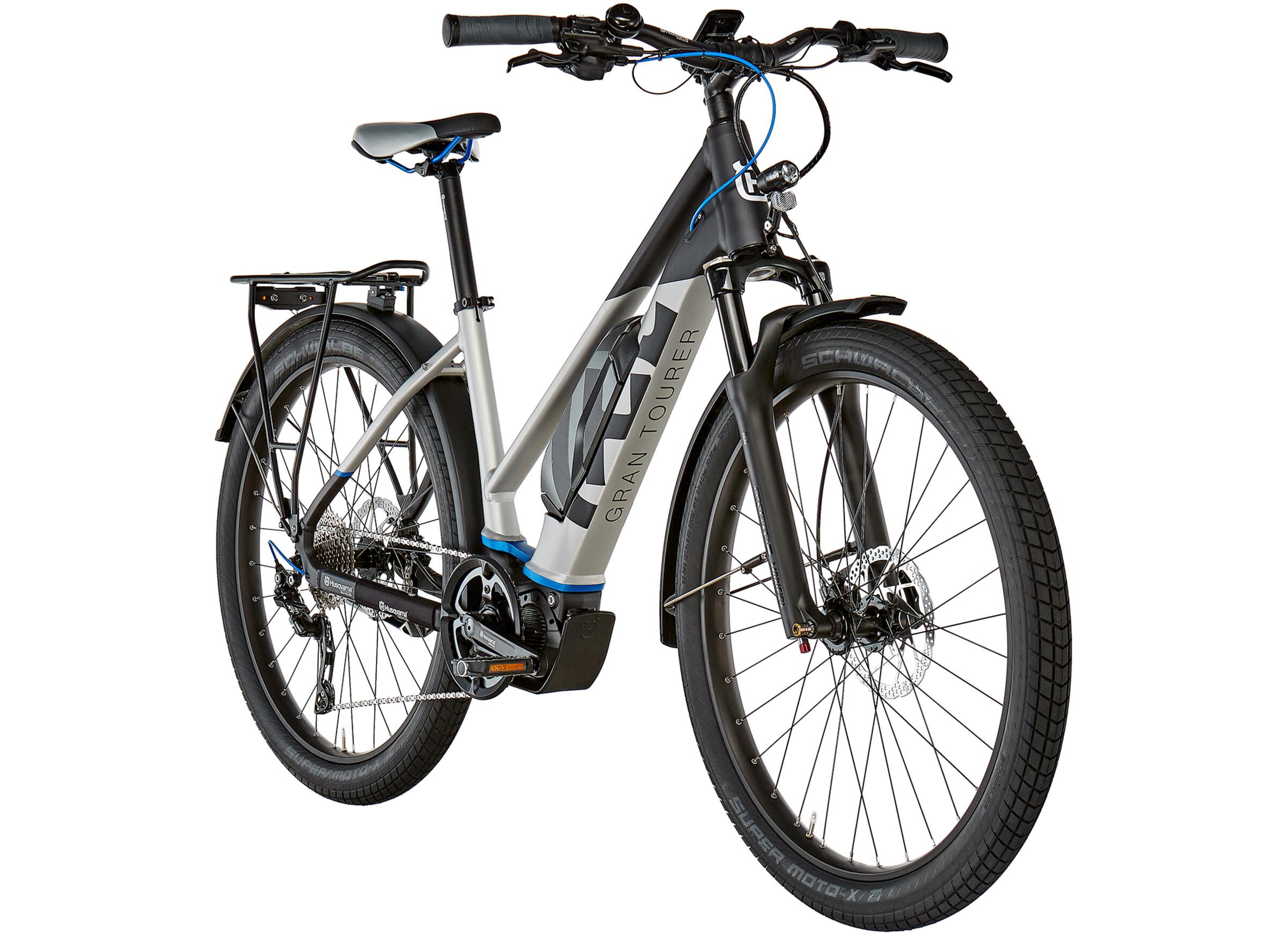 Husqvarna GT3 E-Trekking Bike 27,5 black/silver at